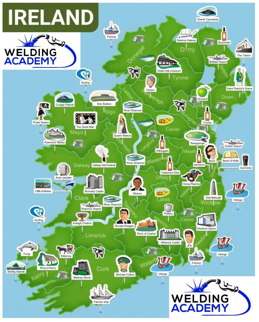 Welding Ireland - Tourist Education